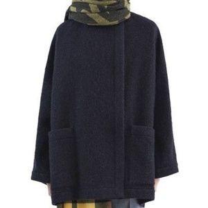 Acne Studios Alden Short Wool Alpaca Coat